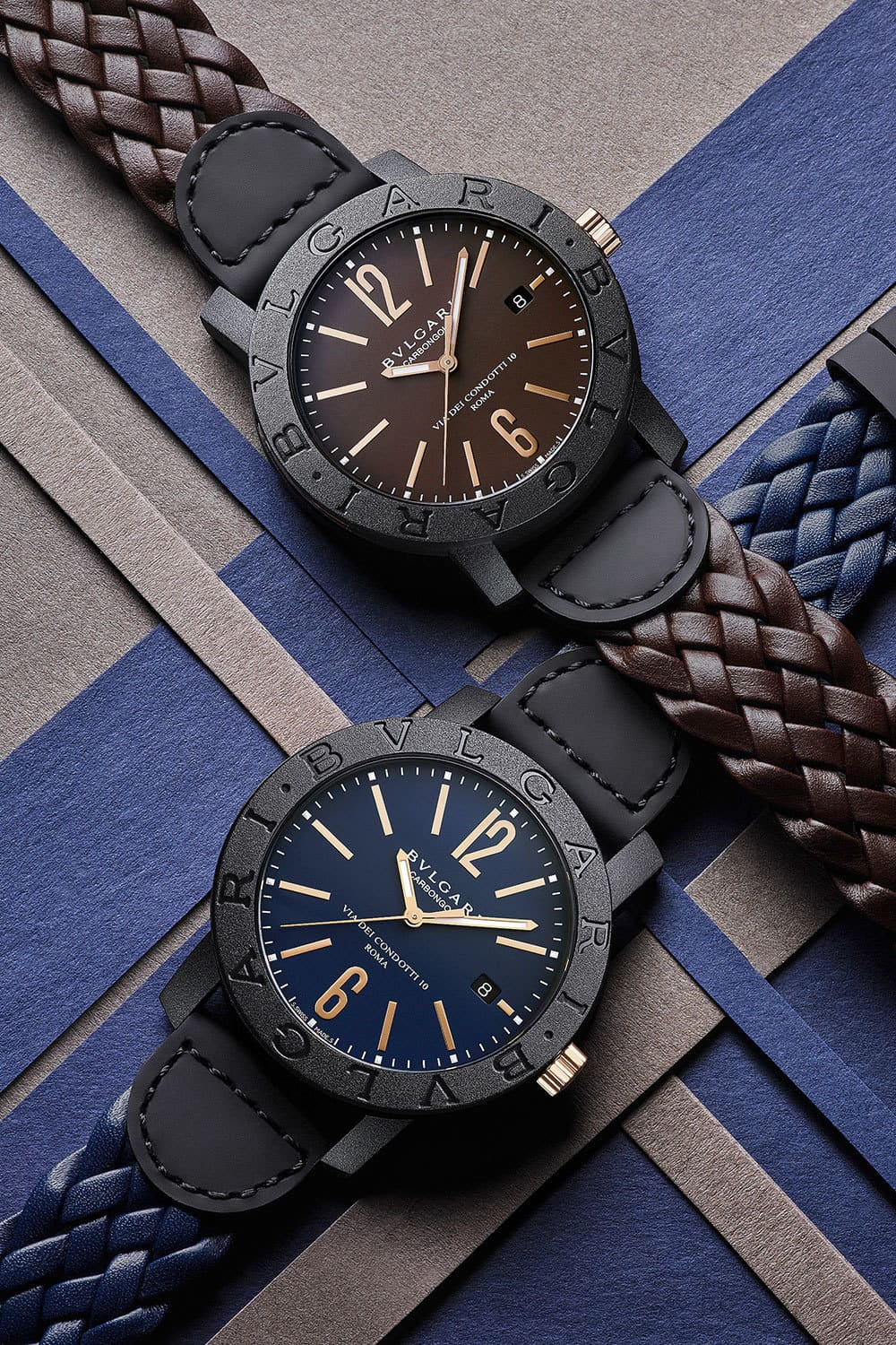 Bvlgari's New Carbon Gold Timepiece is Beyond Stunning