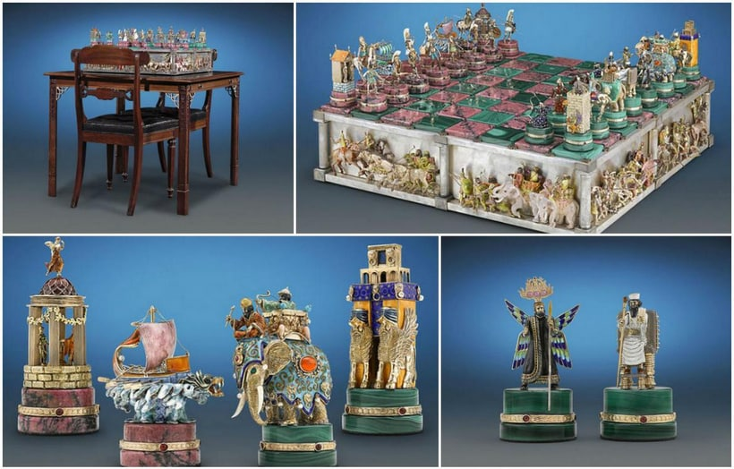 Battle Of Issus Chess Set