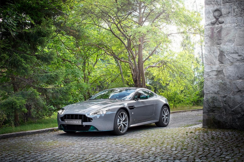 The Aston Martin V8 Vantage S Swedish Forest Edition is here