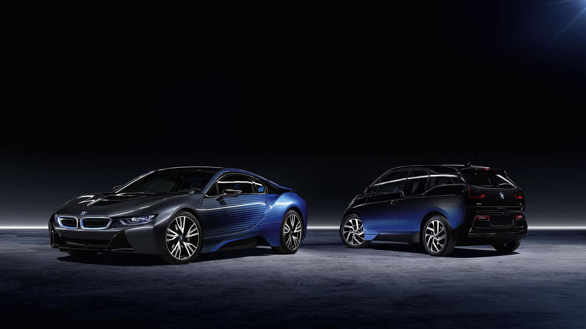 Bmw I8 Amp I3 Crossfade Editions Turned A Lot Of Heads In Paris