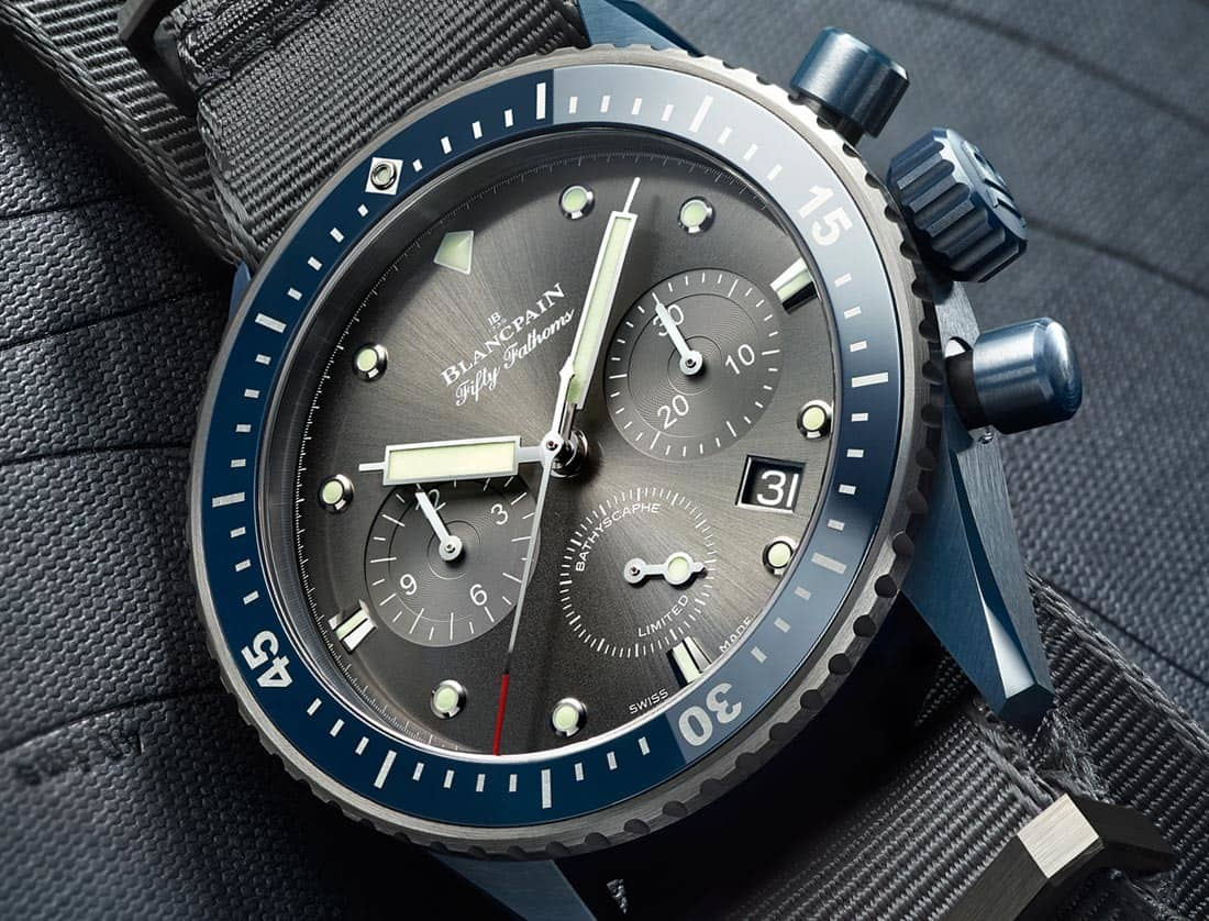 Fifty Fathoms Bathyscaphe Flyback Chronograph