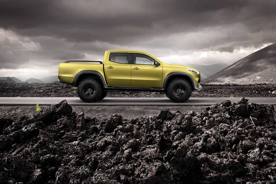 The Mercedes Benz X Class Pickup Truck Takes Over Our Minds