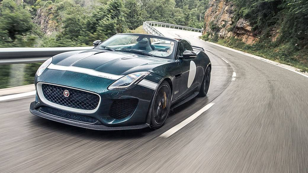 David Beckham Jaguar F Type Project 7