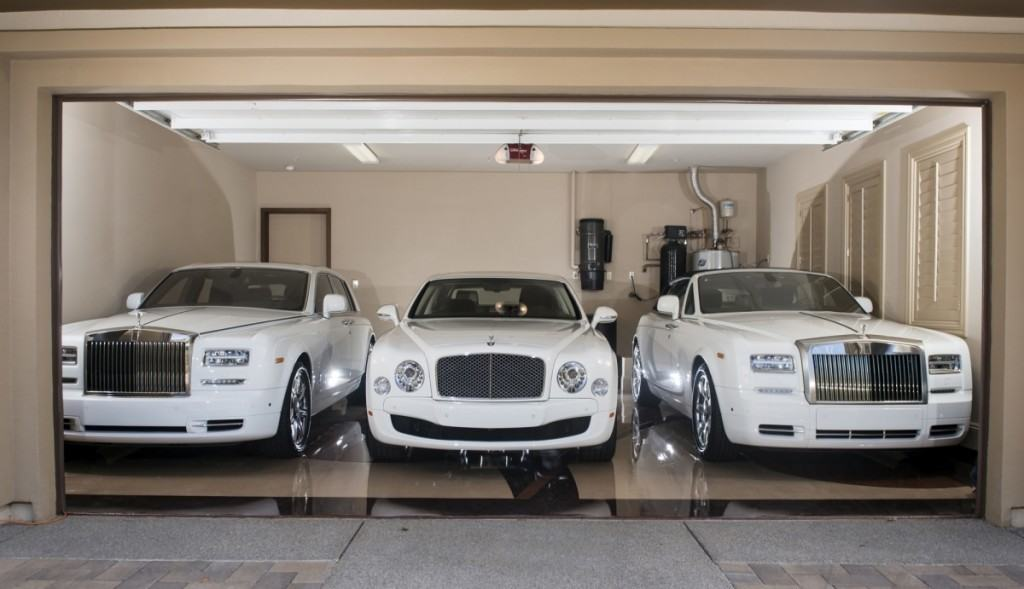 Floyd Mayweather luxury cars