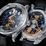 H. Moser & Cie. Venturer Tourbillon Dual Time Sapphire Blue Skeleton 1
