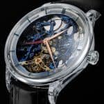 H. Moser & Cie. Venturer Tourbillon Dual Time Sapphire Blue Skeleton 2
