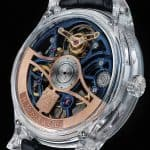 H. Moser & Cie. Venturer Tourbillon Dual Time Sapphire Blue Skeleton 3