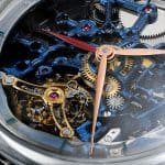 H. Moser & Cie. Venturer Tourbillon Dual Time Sapphire Blue Skeleton 5