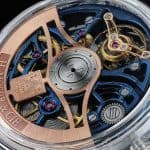 H. Moser & Cie. Venturer Tourbillon Dual Time Sapphire Blue Skeleton 6