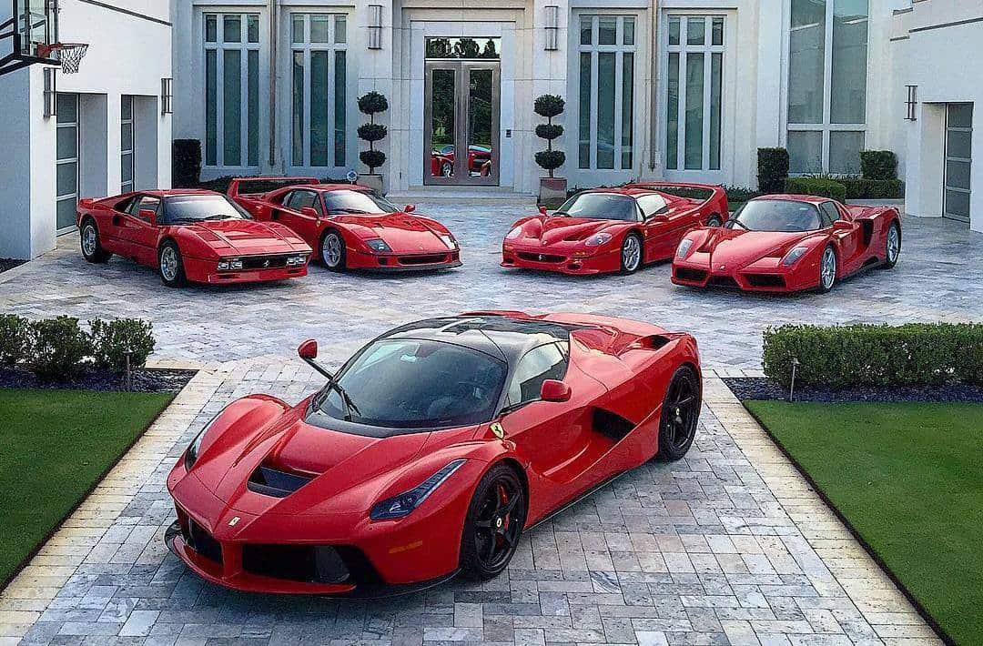 Ian Poulter cars