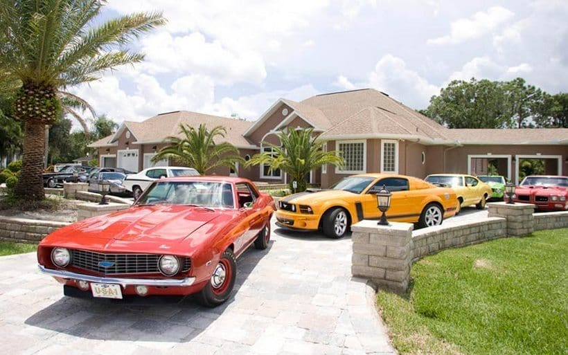 The 15 Most Incredible Car Collections Owned By Athletes