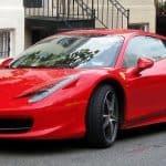 Justin Verlander Ferrari 458 Italia