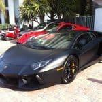 Kobe Bryant Lamborghini Aventador