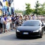 Mario Balotelli Audi R8