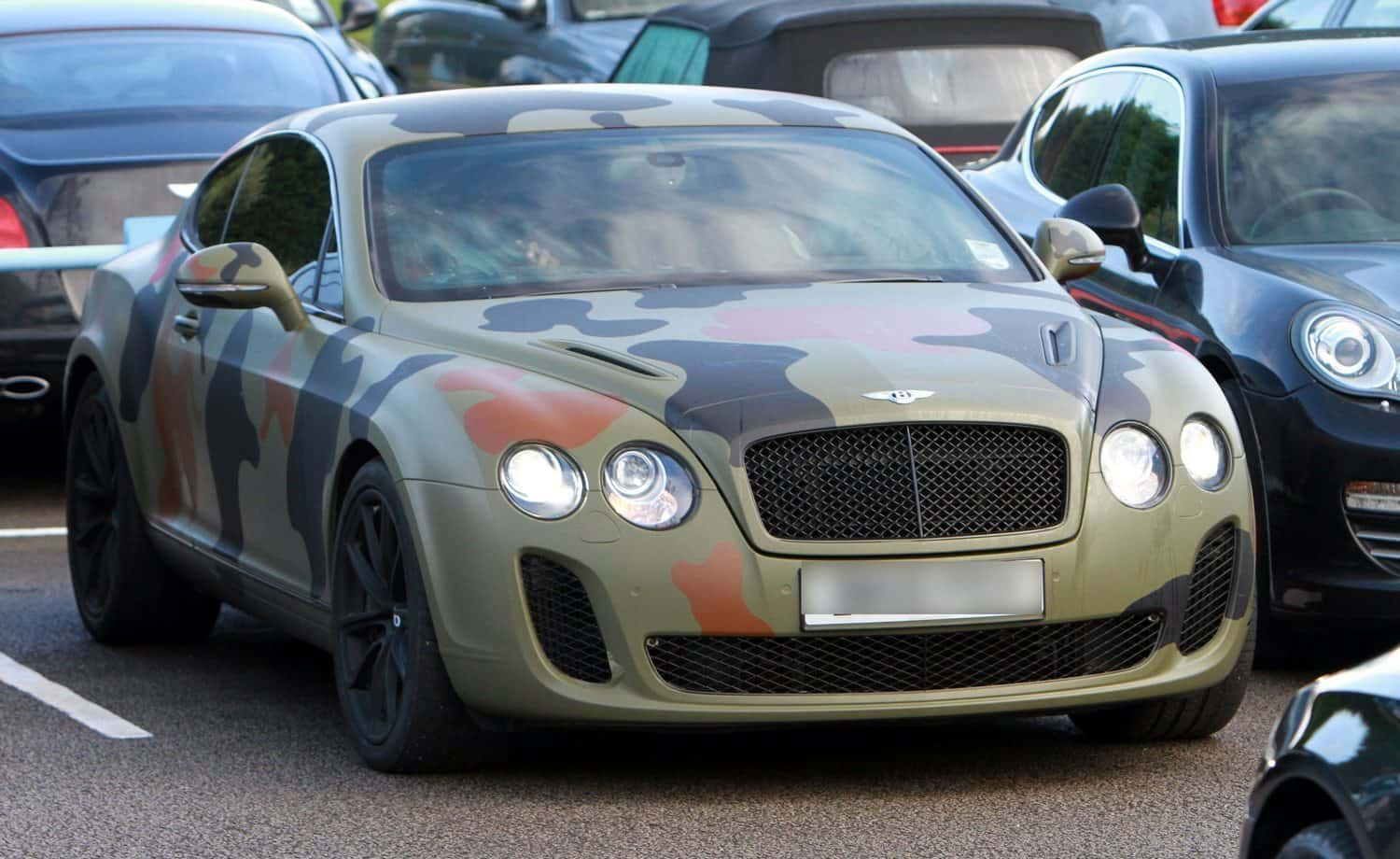 Mario Balotelli Bentley Continental GT