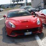 Mario Balotelli Ferrari F12berlinetta