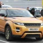 Mario Balotelli Range Rover Evoque