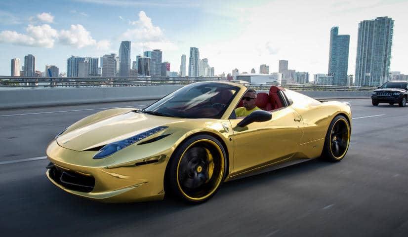 Robinson Cano Gold Ferrari 458