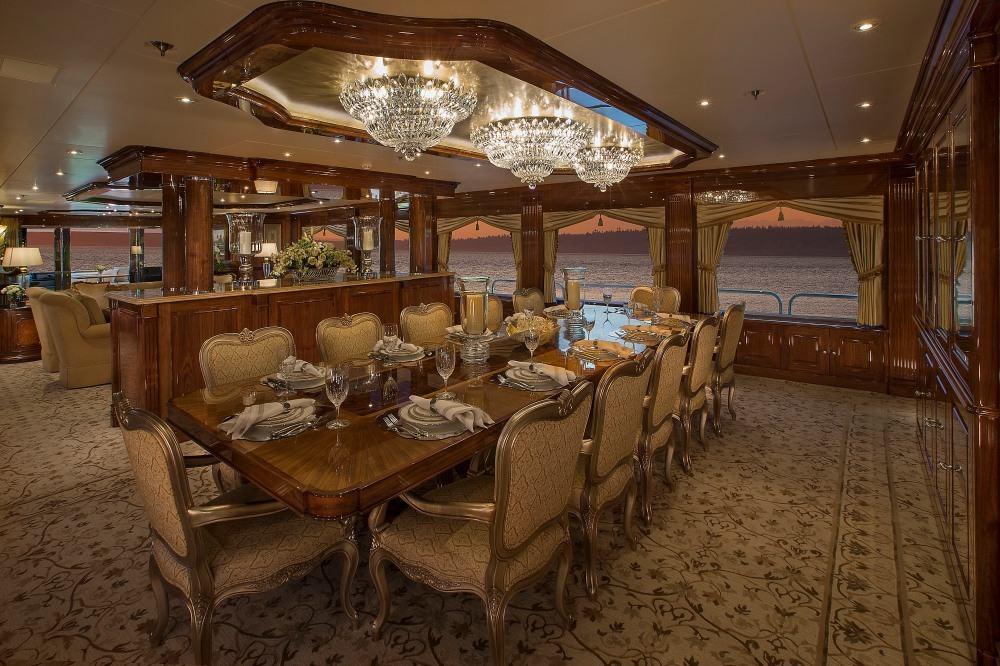 Silver Lining interior