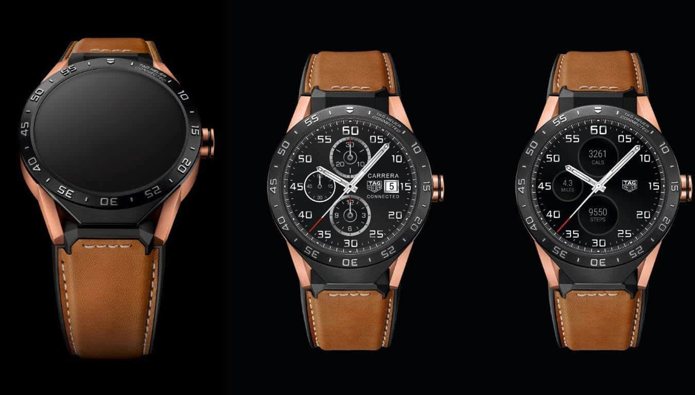 Get Your Very Own Rose Gold Tag Heuer Connected Watch