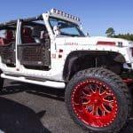 Yoenis Cespedes Jeep Wrangler
