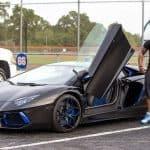 Yoenis Cespedes Lamborghini Aventador