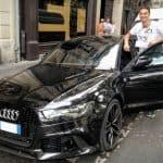 Zlatan Ibrahimovic Audi RS6
