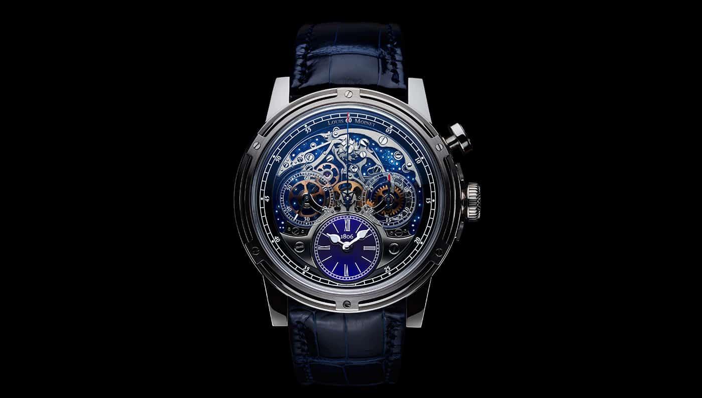 Louis Moinet's new Memoris Watch