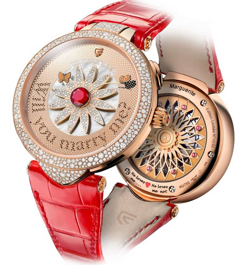 Christophe Claret's Marguerite Watch is the Ultimate Definition Of