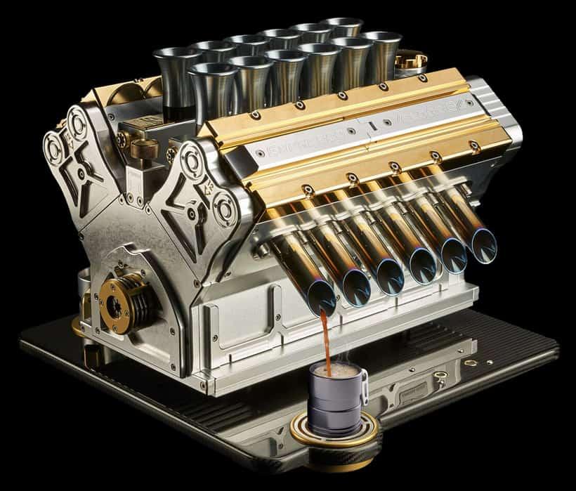 Espresso Veloce Aurum 18ct