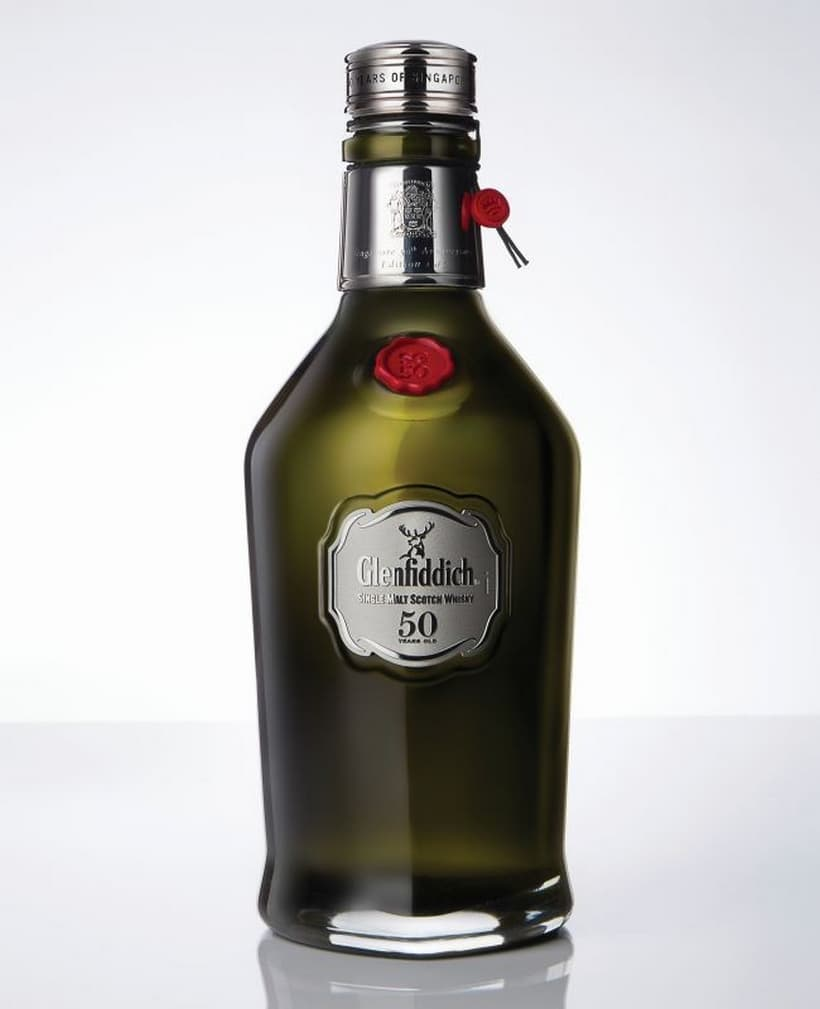 Glenfiddich Singapore Anniversary Edition 50 Year Old