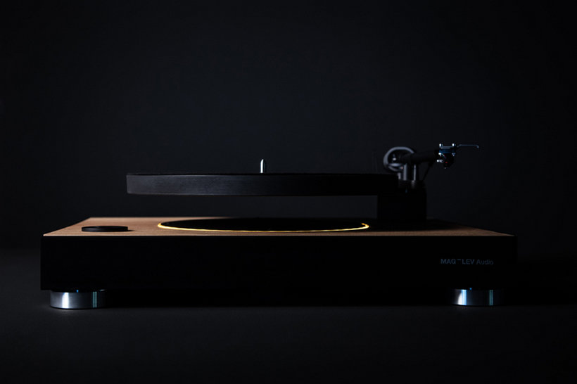 Mag-Lev's Levitating Turntable
