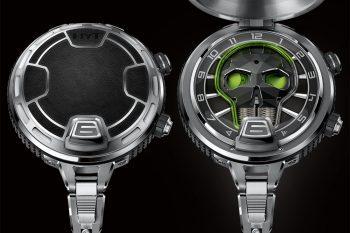 HYT Skull Pocket Watch 2