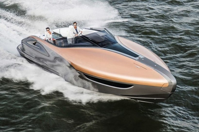 The Sensational Lexus Sport Yacht Sails Through Our Dreams