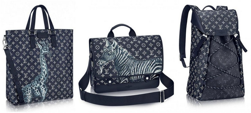 The Zebra Insurance >> Jake & Dinos Chapman Work on a Special Louis Vuitton Luggage Collection