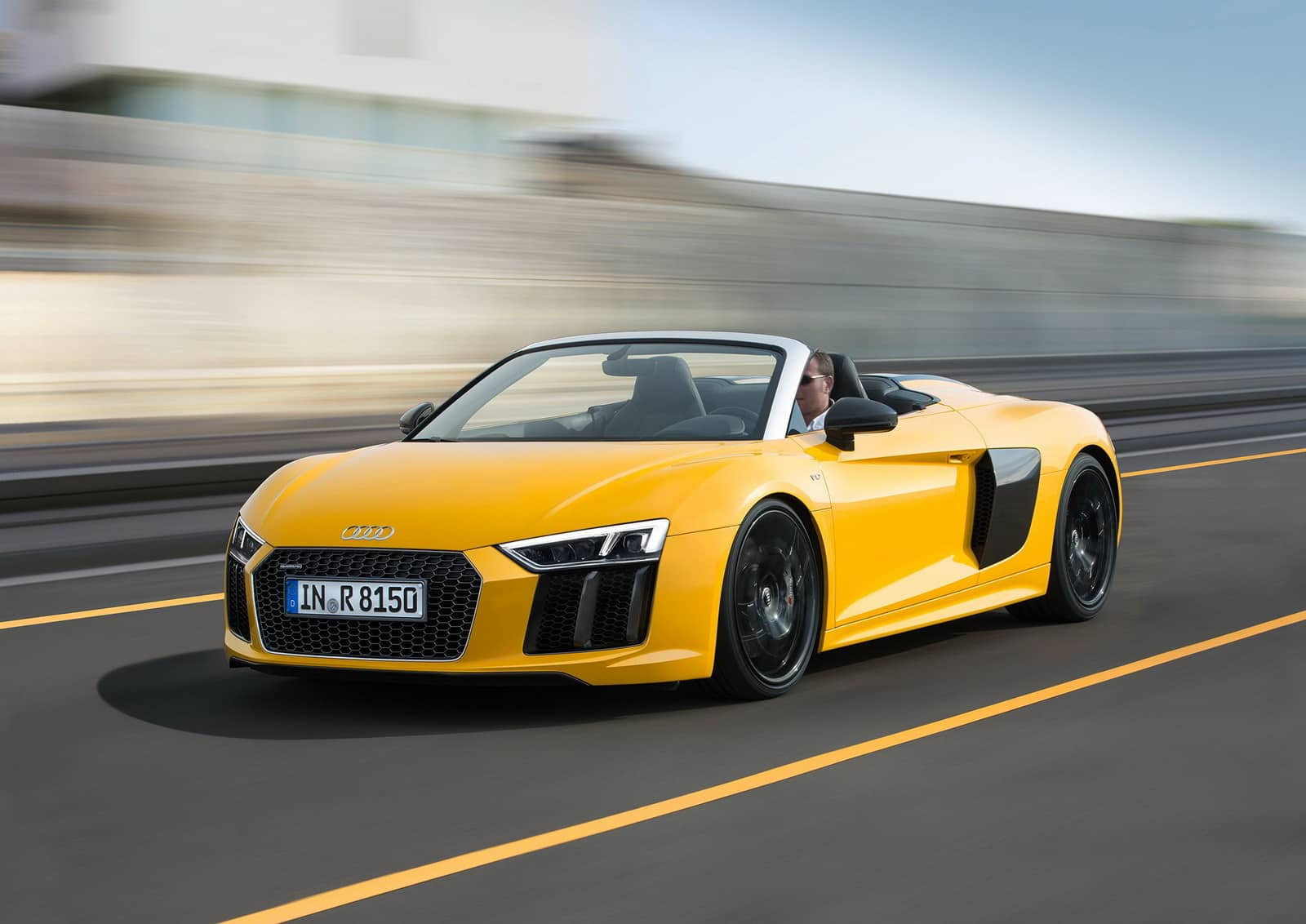 The 2017 Audi R8 V10 Spyder Arrives In The US