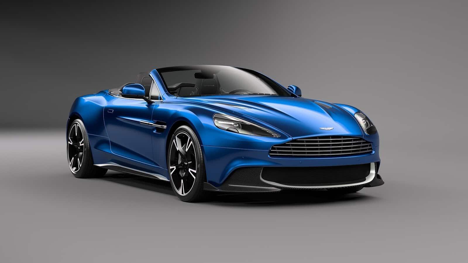 Official Aston Martin Vanquish S Volante 1