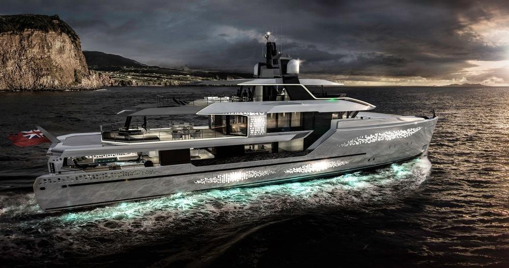 Revolution motor yacht