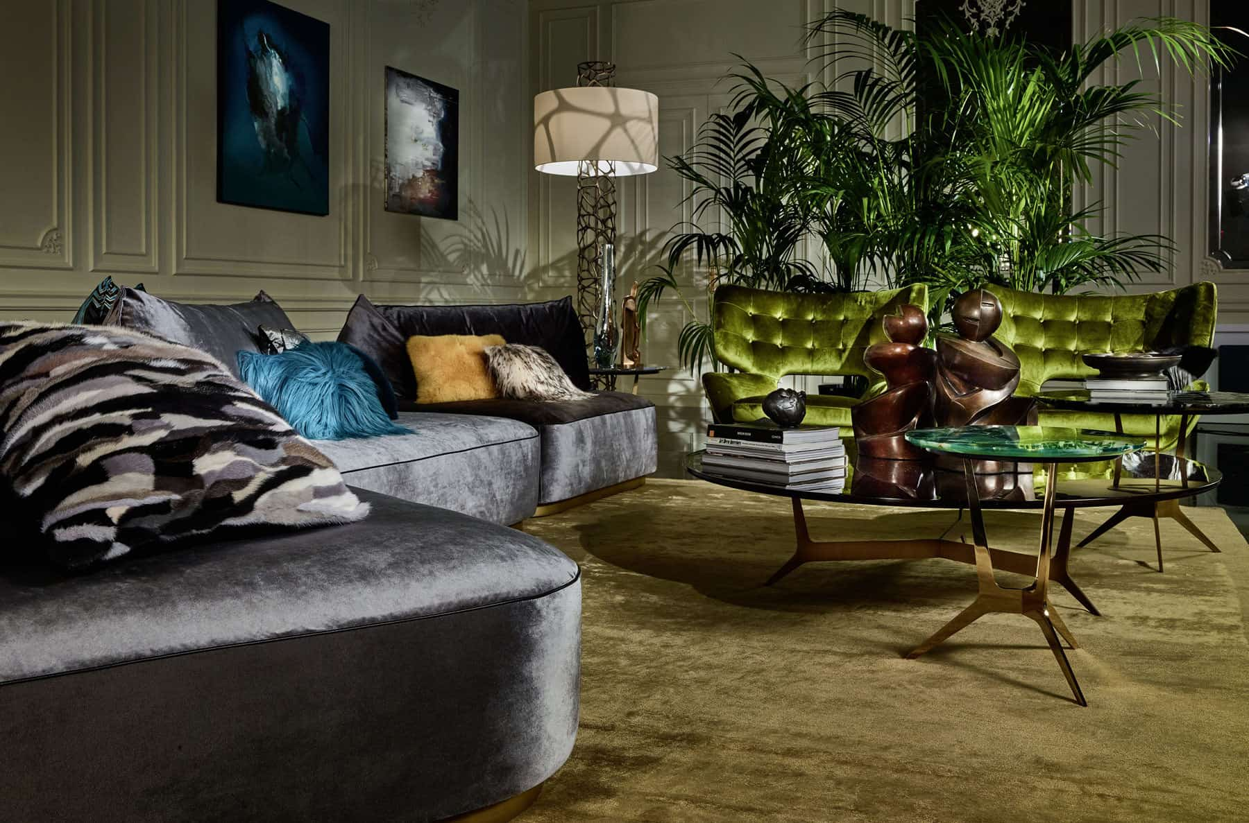 Roberto Cavalli Welcomes 2017 With A Fresh Home Interiors ...