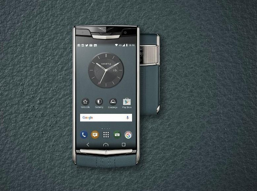Vertu's Signature Touch Teal Fluted Edition Is The Newest Luxury Gadget