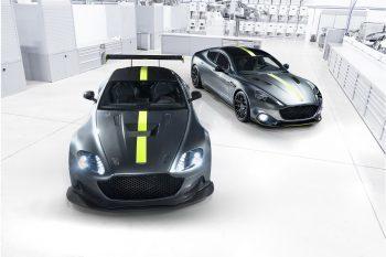 Aston Martin Rapide AMR & aston Martin Vantage AMR 1