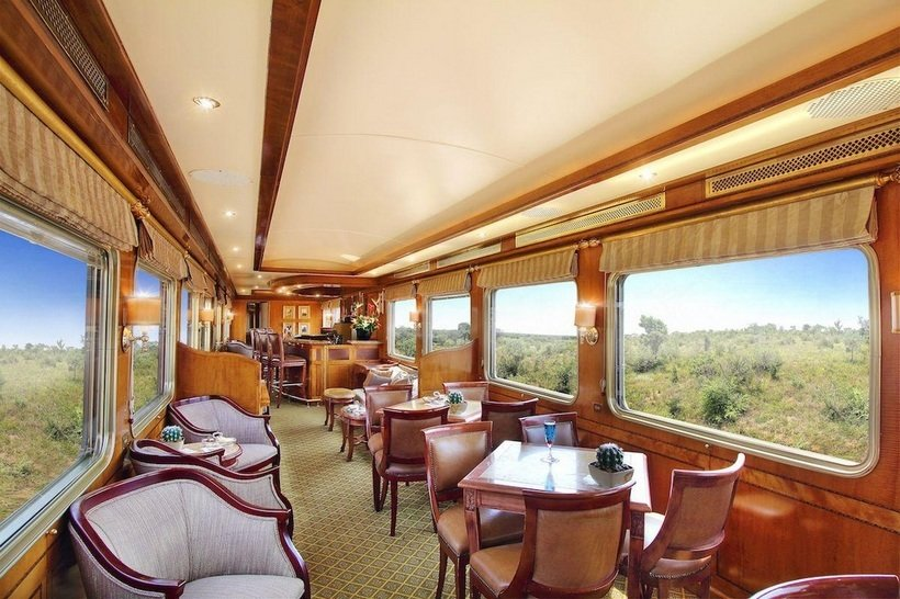 Blue Train interior