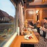 Eastern & Oriental Express train interior