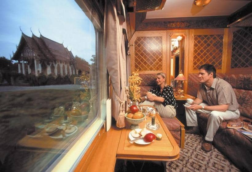 Eastern & Oriental Express train interior