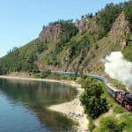 Golden Eagle Trans-Siberian Express train