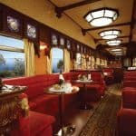 Golden Eagle Trans-Siberian Express train interior