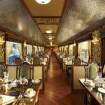 Maharaja Express train interior