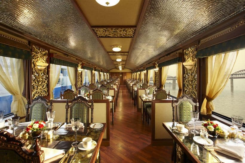 Maharaja Express train interior