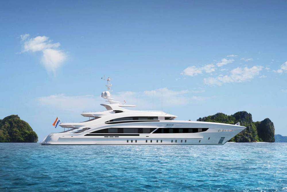Heesen Yachts Maia