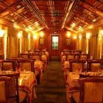 Palace on Wheels train interior